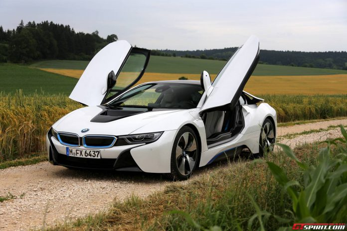 BMW i8 review photo