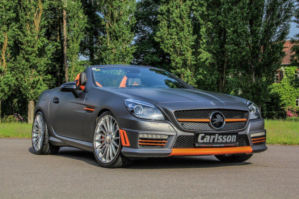 Carlsson reveals crazy mercedes benz csk55 gtspirit for Mercedes benz slk 55