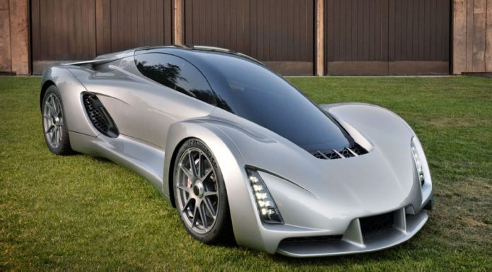 World's first 3D printed supercar