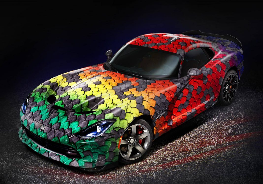 Dodge Viper GTC Now Available With 8000 Matte Finishes