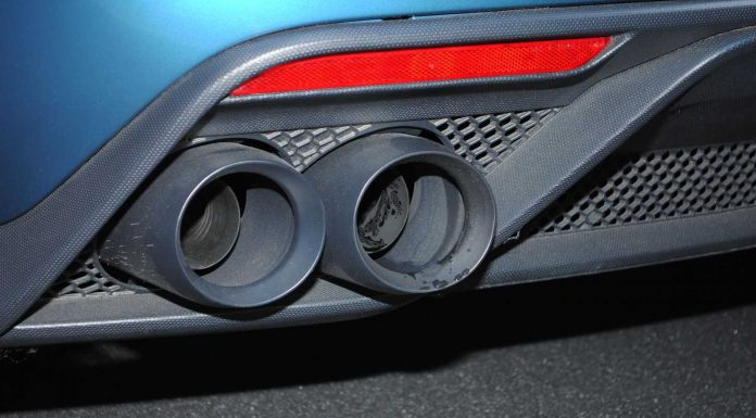 Ford Mustang Shelby GT350R exhaust