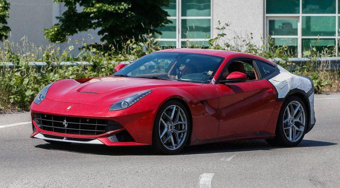 Ferrari F12 M testing