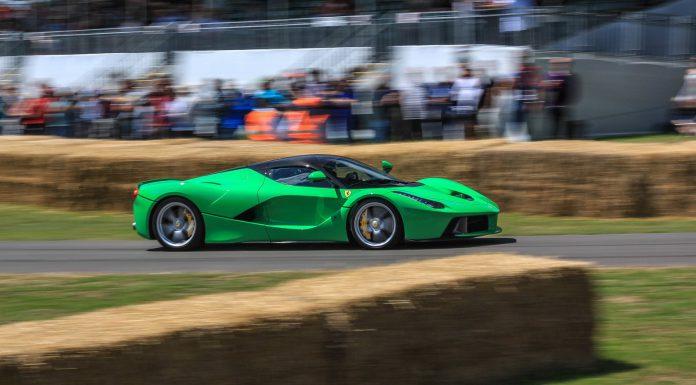 Goodwood Festival of Speed Green LaFerrari
