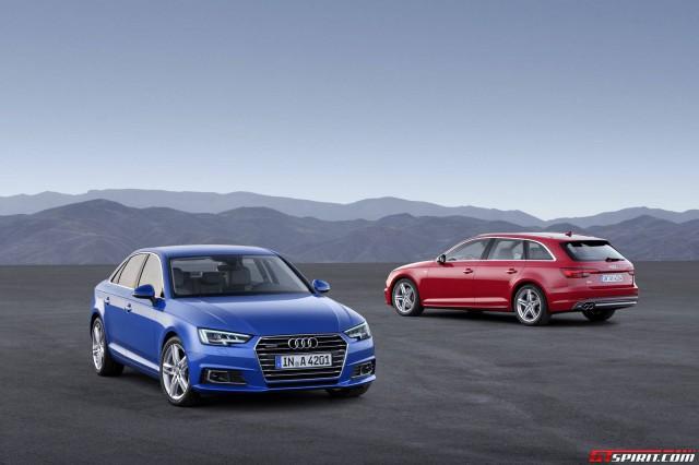 2016 Audi A4 and A4 Avant