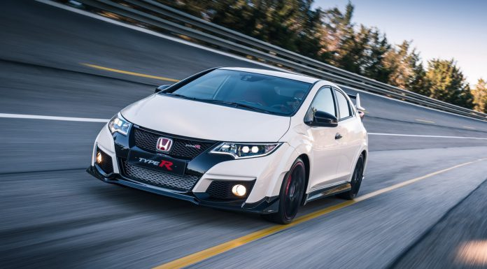 Honda Civic Type R hits Slovakiaring