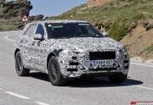 Jaguar F-Pace Spy Shot