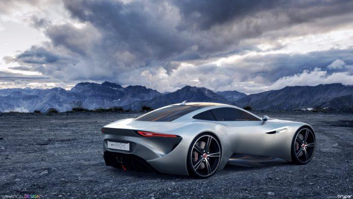 Jaguar XK concept rendering