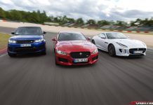 Jaguar Land Rover at the Nurburgring GP Track
