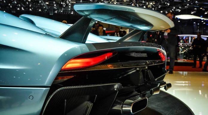 Koenigsegg Regera rear wing
