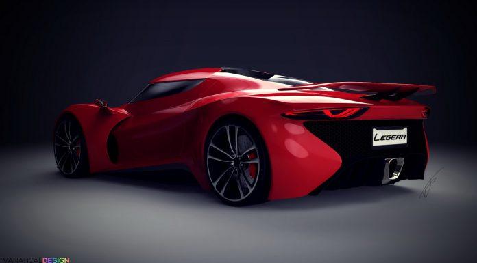 Baby Koenigsegg Legera rendered rear