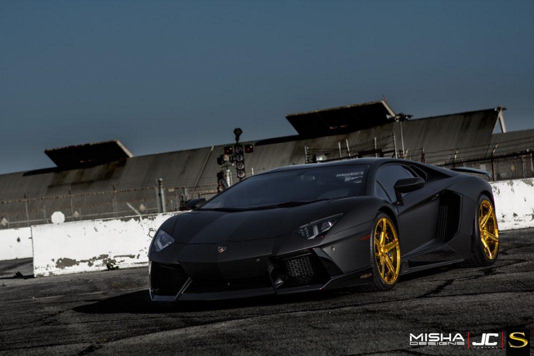 Chris Brown's Lamborghini Aventador