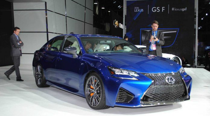 Lexus GS F making dynamic debut at Goodwood Festival of Speed 2015