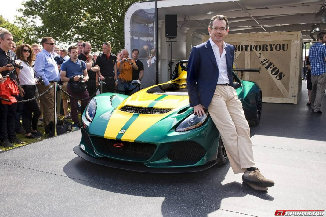 Lotus SUV to launch in 2019