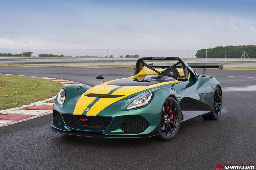 Official: 2016 Lotus 3-Eleven