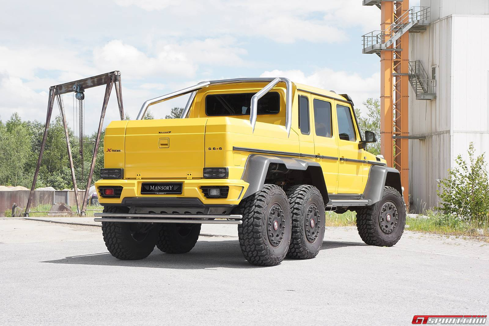 Official mansory gronos g63 amg 6x6 gtspirit for Mercedes benz g63 6x6 amg