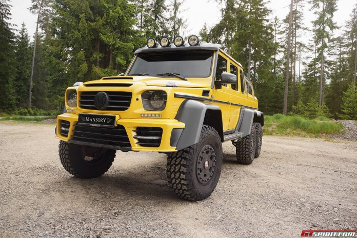 Mansory Gronos Mercedes-Benz G63 AMG 6x6 Front