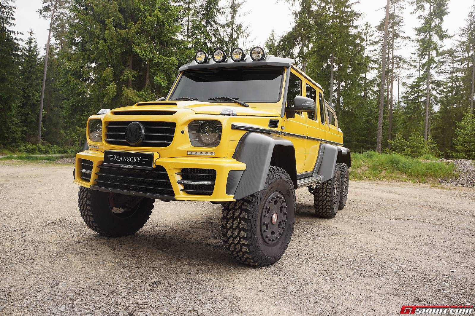 Official Mansory Gronos G63 Amg 6x6 Gtspirit