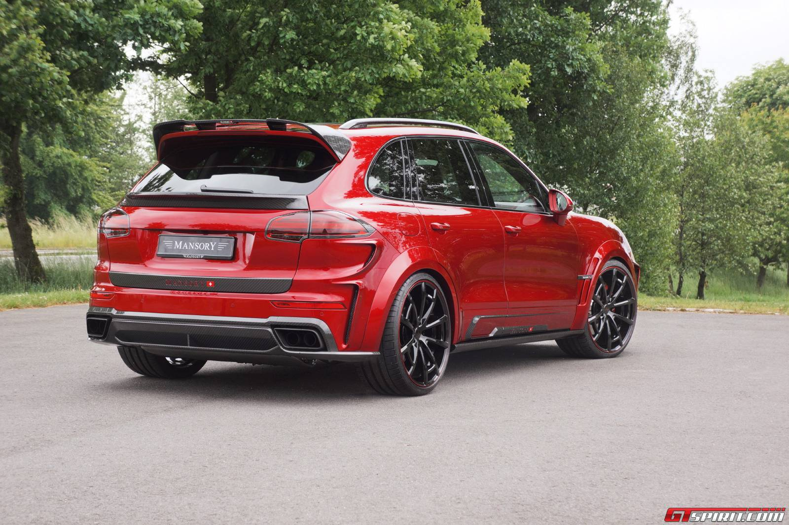 Official Mansory Porsche Cayenne Turbo And Turbo S Gtspirit