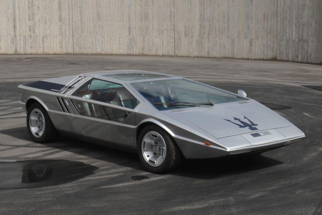 Maserati Boomerang heading to auction