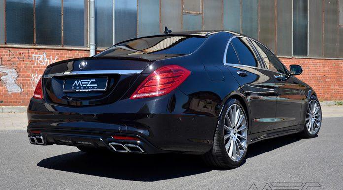 Mercedes-Benz S-Class by MEC Design Rear View
