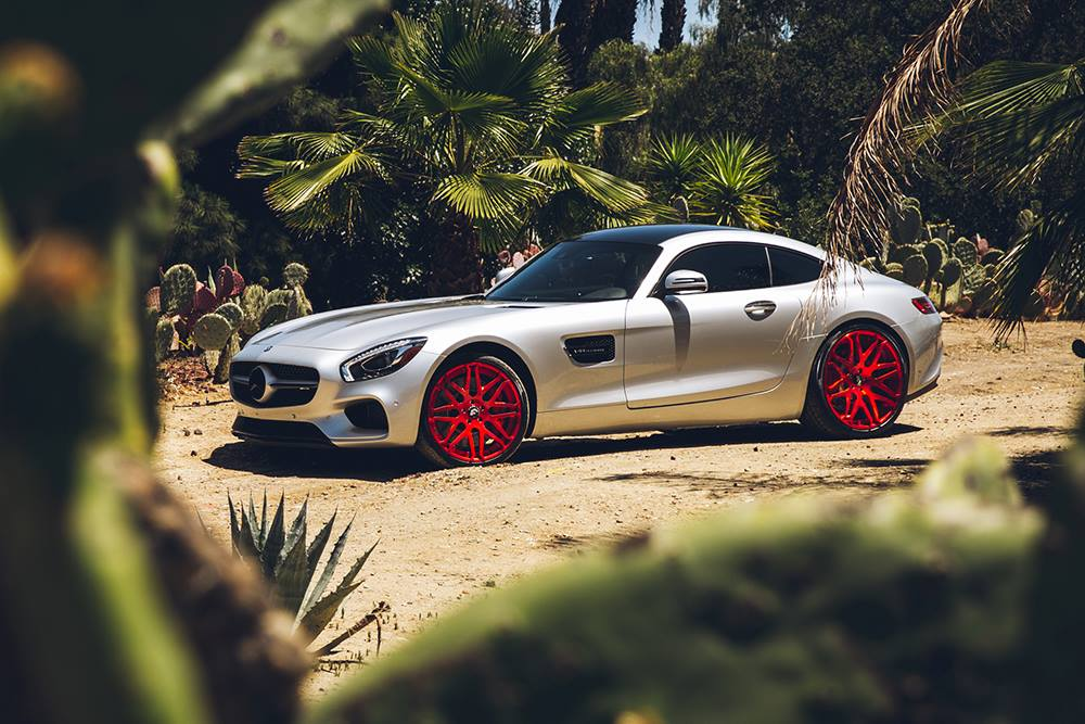 Mercedes-AMG GT S With Forgiato Wheels
