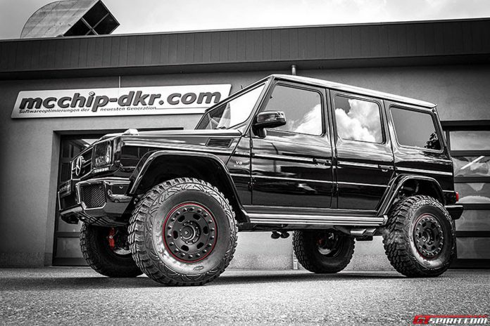 Lifted Mercedes-Benz G63 AMG with 810hp