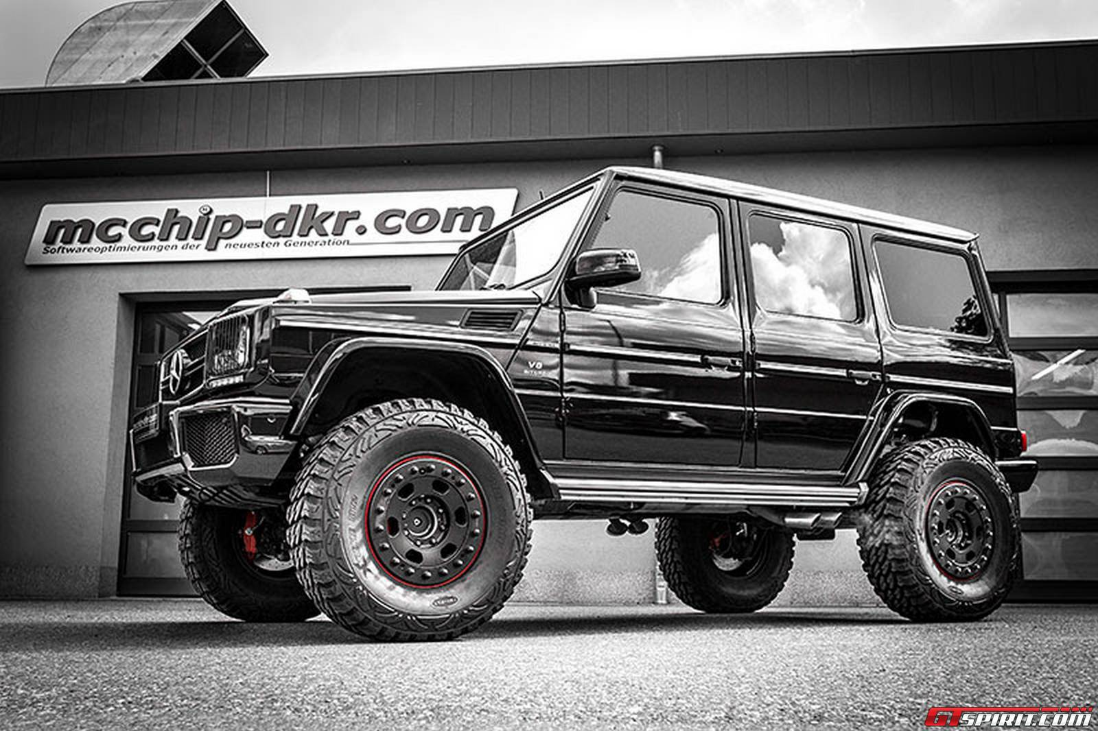 official 810hp mercedes benz g63 amg by mcchip dkr gtspirit. Black Bedroom Furniture Sets. Home Design Ideas