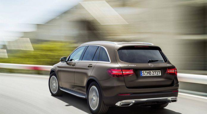 Mercedes-Benz GLC rear
