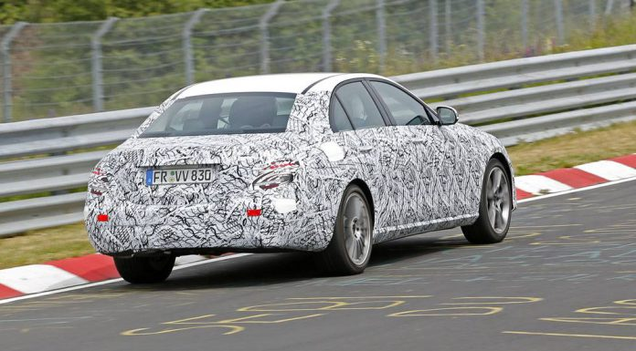 Mercedes-Benz E-Class Spy Shots From the Nurburgring