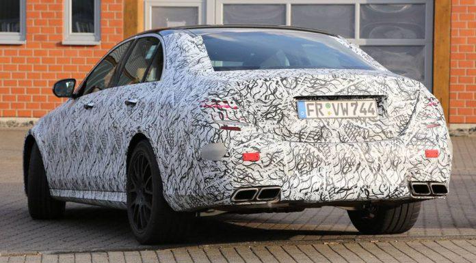 Mercedes-Benz E63 AMG spied rear