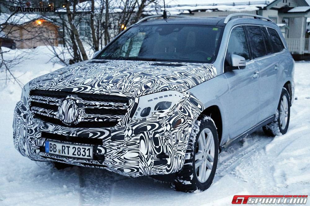 mercedes-benz gls could get coupe and long wheelbase versions