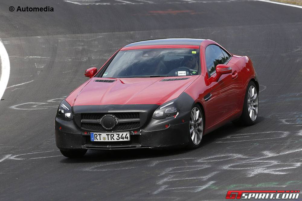 Mercedes-Benz SLC at the Nurburgring