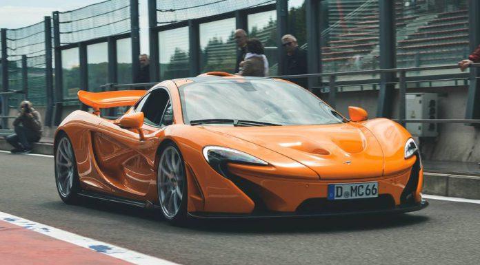 McLaren P1 at Modena Track Days Spa 2015