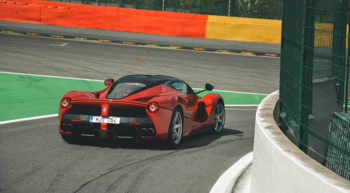 LaFerrari at Modena Track Days Spa 2015