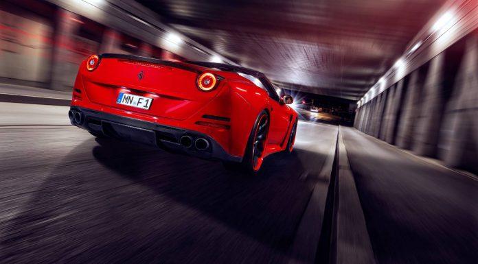 Novitec Rosso Ferrari California T N-Largo Rear