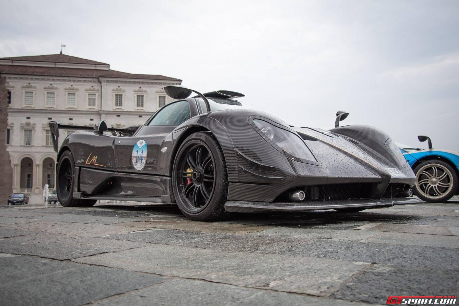 Gran Premio Parco Valentino Parade 2015 Pagani Zonda LM Coupe