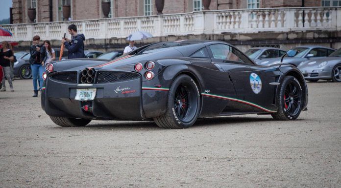 Gran Premio Parco Valentino Parade 2015 Pagani Huayra La Monza Lisa