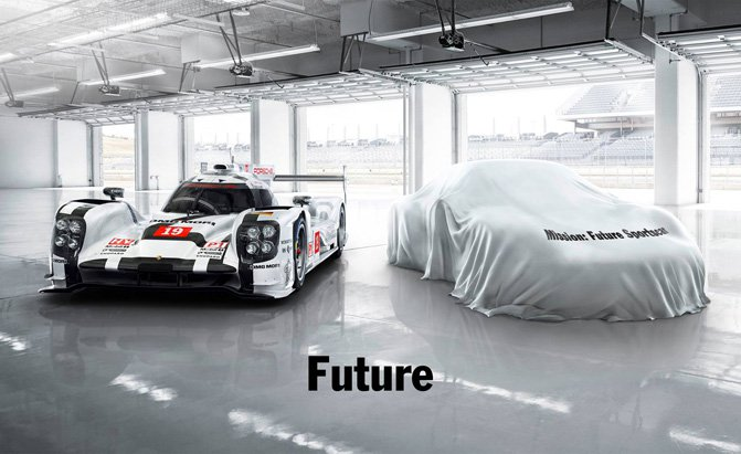 Porsche teases new sports car following Le Mans