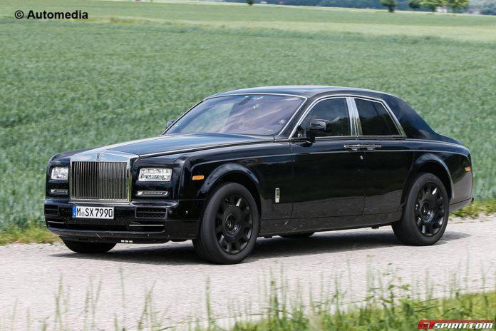 Rolls-Royce Cullinan Mule Spy Shots