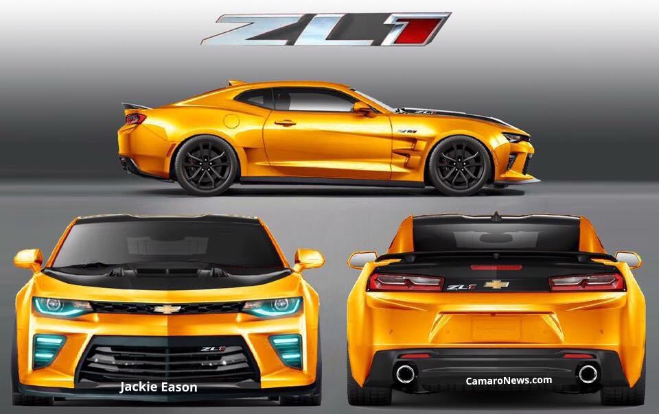 Crazy Chevrolet Camaro ZL1 Would Frighten Hellcat - GTspirit