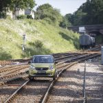 Smart ForRail on the rails