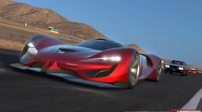 SRT Tomahawk Vision Gran Turismo front