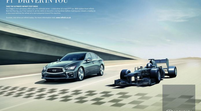 Infiniti Formula One contest