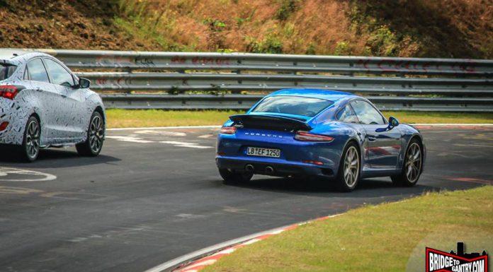 Porsche 911 Facelift rear