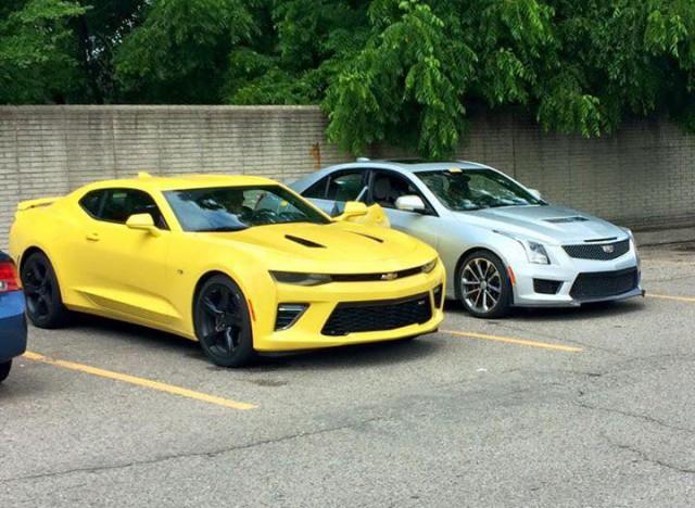 Yellow Camaro Six