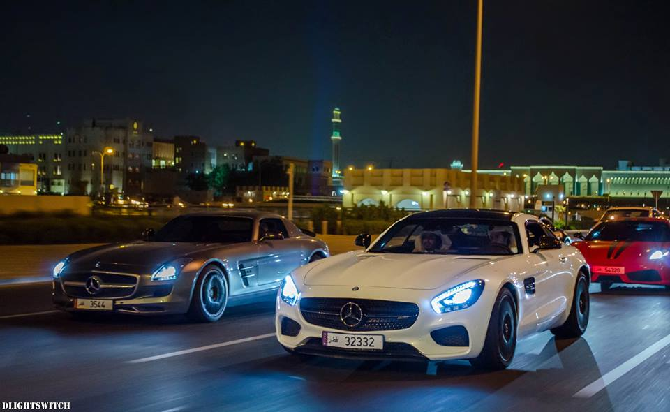 Metrcedes-AMG GT and SLS AMG