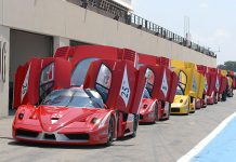 Ferrari FXX at Paul Ricard