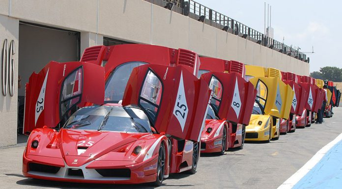 Ferrari FXX at Paul Ricard