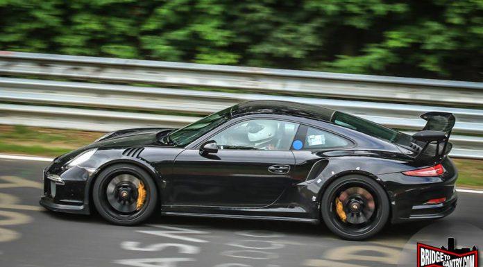 Porsche 911 GT3 RS Test Mule