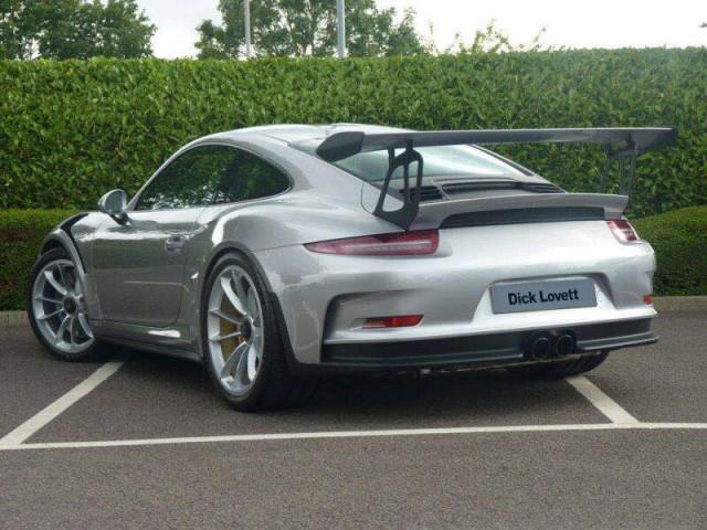 Silver Porsche 911 GT3 RS 2016 For Sale